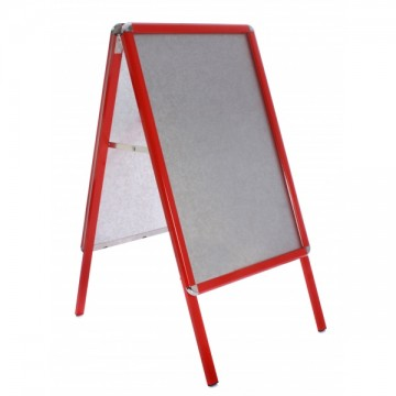 Colour A Board Red Frame