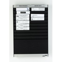Document Control Panel ( 20 Slots ) Portrait Orientation