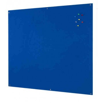 Unframed Blue Felt Notice Board