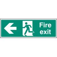 Fire exit - Left - Emergency Escape Sign
