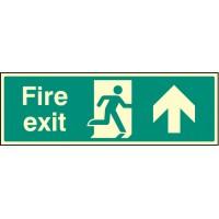 Fire exit - Left  -  'Night Glow'