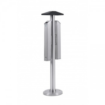 Double Sided Floor standing Smokers Pole - Smoking Post