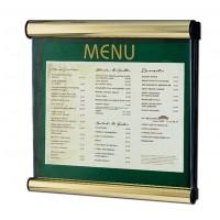 Premium Menu Display Case