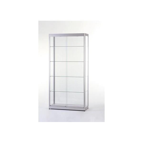 Illuminated Glass Showcase   Glass Display Cabinet