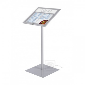 Illuminated Menu Display Free Standing