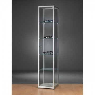 Glass Showcase - Glass Display cabinet - 500x500x1984