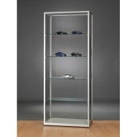 Glass Showcase - Glass Display cabinet - 800x400x1984mm