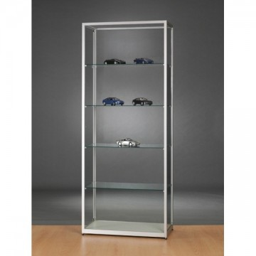 Glass Showcase - Glass Display cabinet - 800x400x1984mm