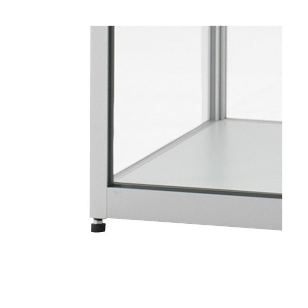 Illuminated Glass Showcase   Glass Display Cabinet With Lighting    400x400x2000