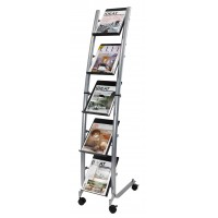 Alba DD5PM Mobile Floor Stand Doc Display A4 5 TIER