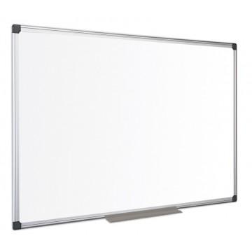 White Ceramic Steel Dry Wipe Board Aluminium Frame