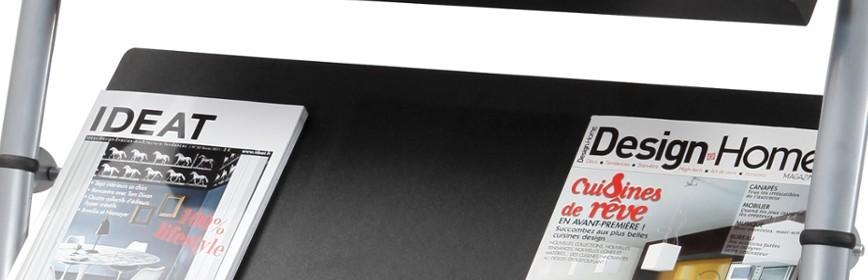 Leaflet and Magazine Holders