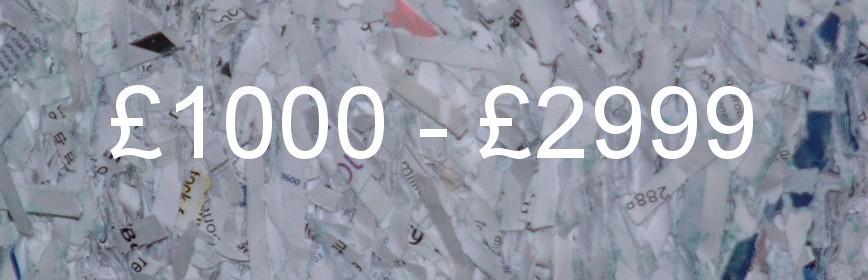 £1000 - £2499